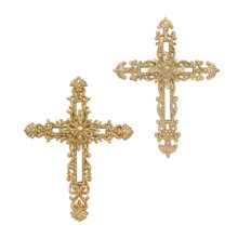 RAZ 6in Cross Ornament, 2 Assorted #3314164