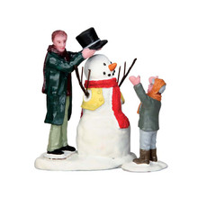 Lemax Village Collection Sharp-Dressed Snowman, set of 2 #52352