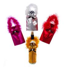 Kurt Adler Wine Bottle Holders, 4 Assorted #C4668