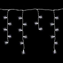 70 LED Cool White Icicle Light Set