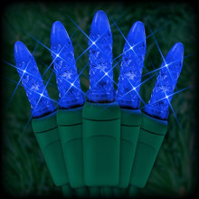 70 LED Blue Corn Bulb Light Set