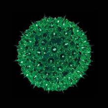 100 Green Light Bulb Sphere