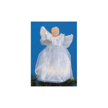 10-Light Porcelain Angel Tree Topper