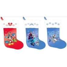 18in Velour Disney Stocking, 3 Assorted