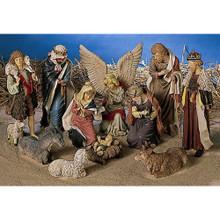 11-Piece Nativity Figuring Set #70470