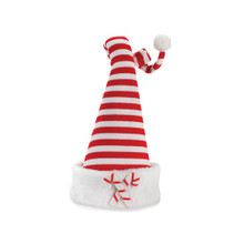 Striped Hat with Candy Cane Tree Topper #46441