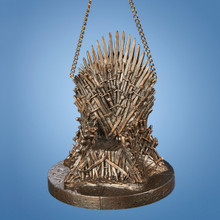 "Kurt Adler 4"" Game of Thrones Iron Throne Ornament #GO2142T"