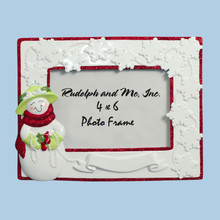 Rudolph & Me Pearl Lady Personalized Frame #RMF-PL