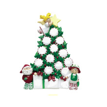 Rudolph & Me Peppermint Tree Personalized Tabletop #TT105