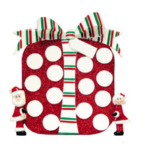 Rudolph & Me Big Present Personalized Tabletop #TT260