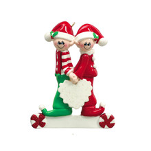 Rudolph & Me Sweethearts Personalized Ornament #935