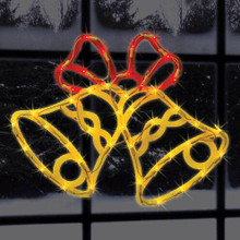 Lighted Snowman Shimmer Window Decoration #91323