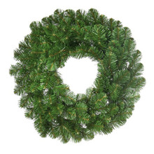 72in Prelit Deluxe Oregon Fir Christmas Wreath with 400 Clear UL Lights