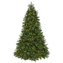 12' Prelit Deluxe Belgium Mix Christmas Tree with 3600 Clear UL Lights