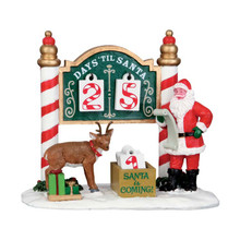 Lemax Village Collection Christmas Countdown #53208
