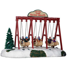 Lemax Village Collection Swing Boats #64063