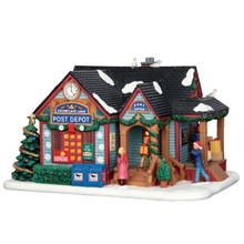 Lemax Village Collection Snowflake Lane Post Depot #65108