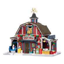 Lemax Village Collection Country Barn Gift Shop #35536