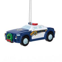 "Kurt Adler 3.5"" Tonka Police Car Ornament #HT1161"
