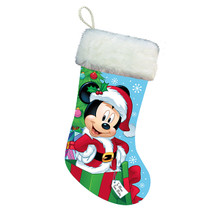 "Kurt Adler 18"" Santa Mickey Stocking #DN7161"