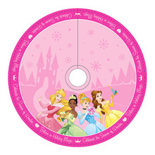 Kurt Adler 48in Disney Princess Printed Tree Skirt #DN7169
