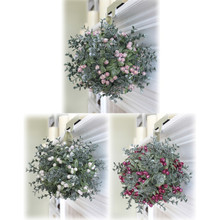 Kissing Krystals Large Mistletoe Ball Ornament, 3 Assorted #KK27