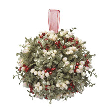Kissing Krystals Large Mistletoe Ball Ornament #KK276