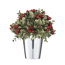 Kissing Krystals Mistletoe Topiary #KK280