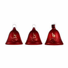 Mr. Christmas Red Musical Bells, Set Of 3 #67569