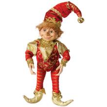 Floridus Design 11in Jingle The Elf #XN301237