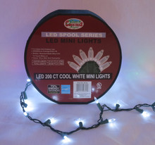 200lt LED M5 Mini Light Spool in Cool White #00756