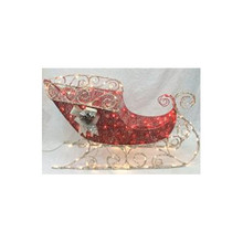 100lt Crystal Red Sleigh #03235