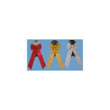 Velvet Glitter Bows, 3 Assorted #51619