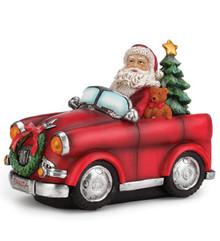 Santa in Car #46181