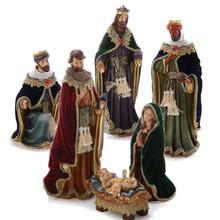Nativity with Wisemen, Set of 6 #46399