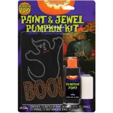 Boo! Paint & Jewel Pumpkin Kit  #94663PDQ