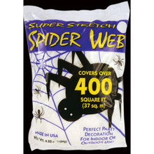 Super Stretch White Spider Web #9534