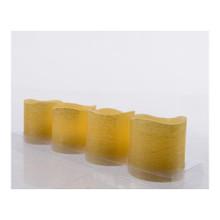Gold LED Votive Candles, Set of 4 #482917