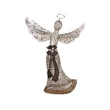 Glittering Champagne Angel Lawn Sculpture #ÊS67700