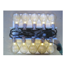 10L Haunted Flickering Light Bulb Set #ES65423