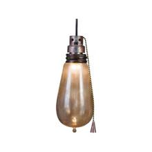 Short Circuit Flickering Attic Light Bulb #AS56875
