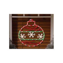 43LT Christmas Ornament Window Mold #95211