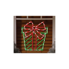 43LT Christmas Present Window Mold #95213
