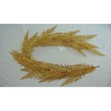 "60"" Gold Glitter Lace Fern Garland #MTX52312"