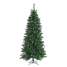 12' PreLit Slim Deluxe Oregon Fir Tree 1300 Clear UL Lights #MTX43265B