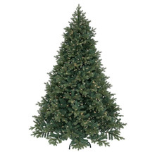 12' Pre-Lit PE Green Spruce Tree with 2,500 Clear UL Lights #MTX47115B