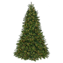 12'Always-Lit Deluxe Belgium Mix Tree 2,150 Clear UL Lights #MTX49882A