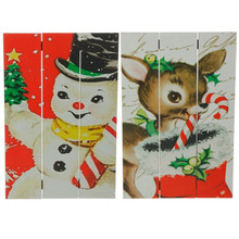 RAZ Vintage Style Christmas Print, 2 Assorted #3616338