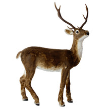 RAZ Realistic Standing Reindeer #3617552