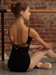 CAPEZIO V-Neck Camisole Leotard Ladies
